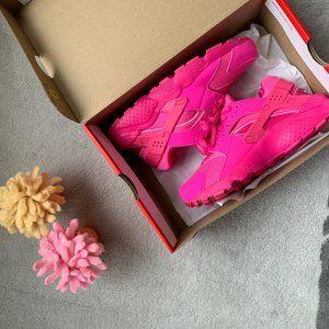 Nike Huarache Run Casual Shoes (5Y/Women 6.5)